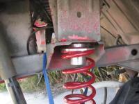 rear suspension solution