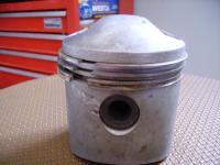 Strange dome top pistons