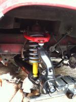 Front suspension rebuild