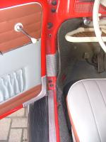 Repro'ing my VW accessory door sill,edge and pillar guards