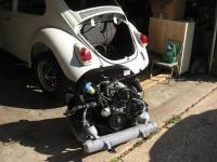 engine in car