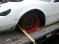 Old Homemade Widened VW 66-67 Wheels