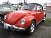 """New"" '79 Super Beetle Convertible"