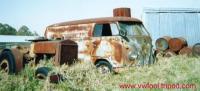 Rat 50's Panel Van (a farm yard discovery)