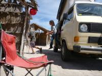 vanagon camping baja