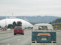 Cruising up to the show - Tacoma Dome
