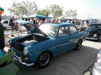 Blue Sunroof Notchback