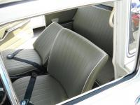 Squareback with recliner