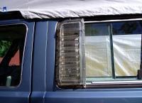 Side window louvers