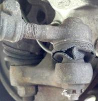 Passenger side steering component
