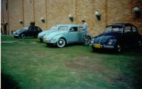 1952 Sunroof Zwitter at the Slalom Contest at the II Encuentro Vintage Centro Chia 2003