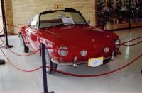 Ruby Red 1965 Karmann Ghia Type 34 Cabriolet at  II Encuentro Vintage Centro Chia 2003