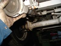Steering Rack on Bus