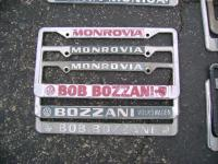 More than one style of Bozzani plate frames