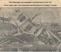 Tornado destroyed oval