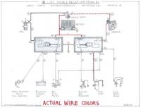 double relay wire colors