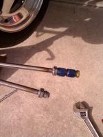 welded hard line pressure testing