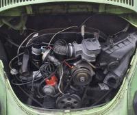 1975 VW Super Beetle Fuel Injection Engine