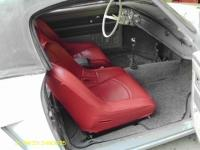 speedster seat in a ghia