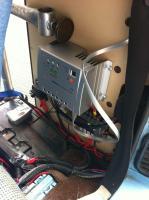 190W Solar panel install, June 7, 2012