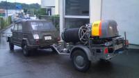 Kompressor trailer