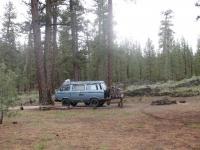 breaking camp - air shocks