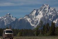 Westy in the Tetons