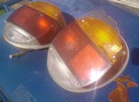 broken tail lights