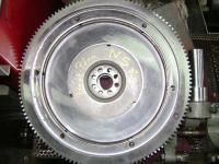 Flywheels freshly tickled on my FB5000 grinder