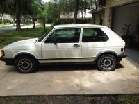 GTi 1983 White Garage Find