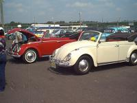Nice Convertibles 1965 (white) & 1962 (red)