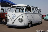 Deluxe busses at the Pomona Swapmeet, June 2012