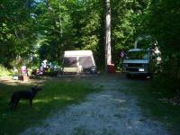 Camping on Canada Day 2012