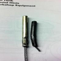 accelerator cable ends