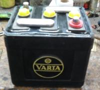 "my new , rebuilt ""VARTA"" battery"