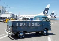 Found Old Alaska Air Truck