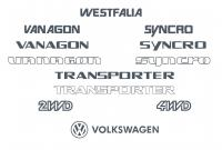 Vw Vanagon T3 Decal Files