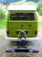 2012 Westfalia bike rack @ 1977 Westfalia Camper