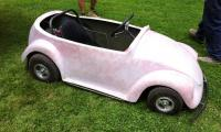 Has anyone ever seen a convertible bodied VW go kart like this?