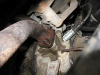 coolant at exhaust header #2