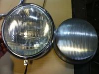 split 50 to 52 headlight lenses .