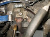 overbored exhaust stud