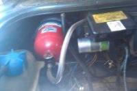 Fire extinguisher for Syncro