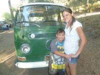 Bus in La Jolla indian res