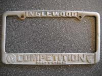 Competition Motors License Plate Frame