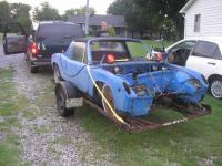 Old Porsche Parts Car Heading To New Home