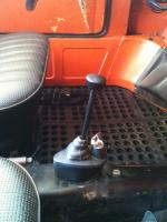 Rubber mat and WW locking shifter