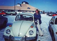 in 2000 with my 73 std bug