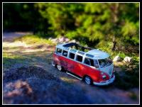 Miniature Deluxe Bus