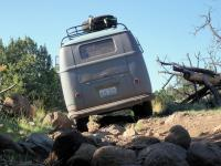 '57 westy taking the rocky road